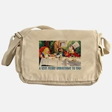 A Very Merry Unbirthday! Messenger Bag