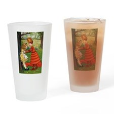 ALICE & THE RED QUEEN Drinking Glass