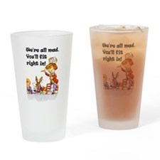 WE'RE ALL MAD Drinking Glass