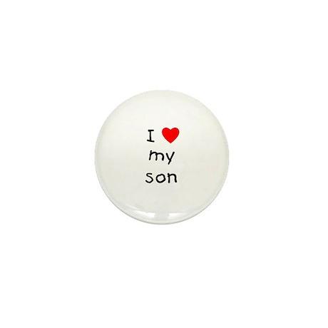 I love my son Mini Button (100 pack)