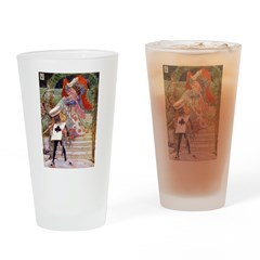 THE DUCHESS & THE EXECUTIONER Drinking Glass