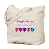 Dialysis nurse Canvas Totes