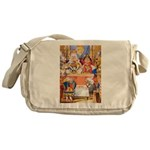 TRIAL OF THE KNAVE OF HEARTS Messenger Bag