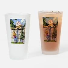 ALICE & HUMPTY DUMPTY Drinking Glass