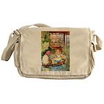 ALICE & THE OLD SHEEP Messenger Bag