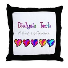 Dialysis III Throw Pillow