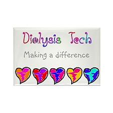 Dialysis III Rectangle Magnet