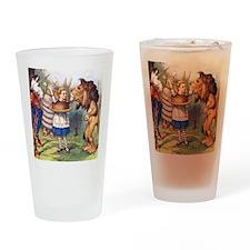 LION & THE UNICORN Drinking Glass