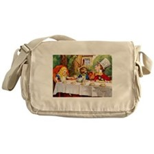 MAD HATTER'S TEA PARTY Messenger Bag