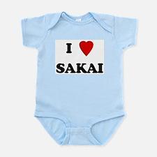 I Love Sakai Infant Creeper