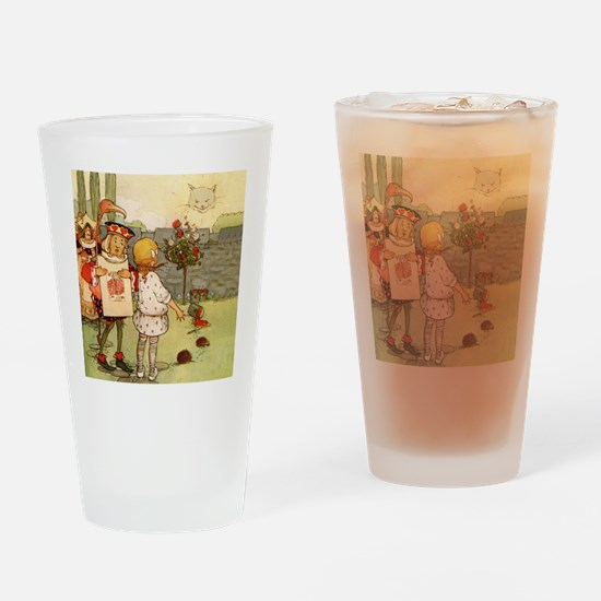 ALICE & THE CHESHIRE CAT Drinking Glass