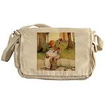 ALICE & THE PIG BABY Messenger Bag