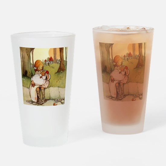 ALICE & THE PIG BABY Drinking Glass