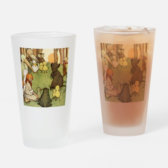 ALICE & THE MOUSE'S TALE Drinking Glass