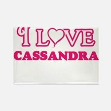 I Love Cassandra Magnets