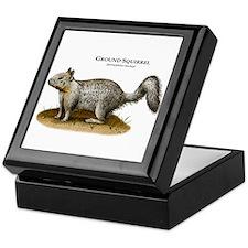Ground Squirrel Keepsake Box