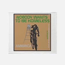 HIA Bicycle design Throw Blanket