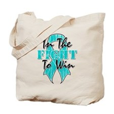 Ovarian Cancer In The Fight Tote Bag