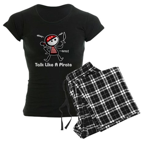 Talk Like A Pirate Women's Dark Pajamas