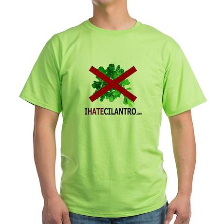 IHateCilantro Green T-Shirt