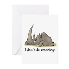 Lazy Rhino Greeting Cards (Pk of 20)
