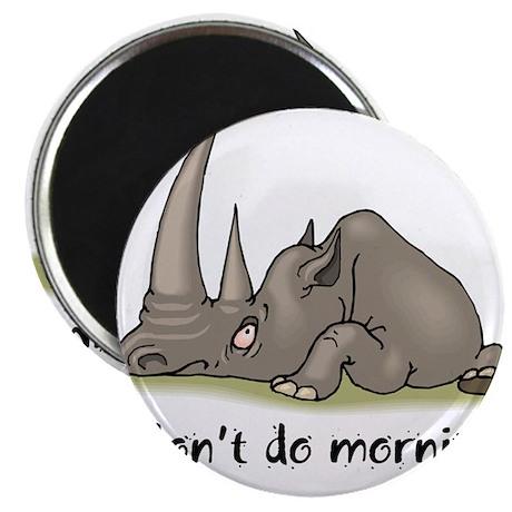 "Lazy Rhino 2.25"" Magnet (100 pack)"