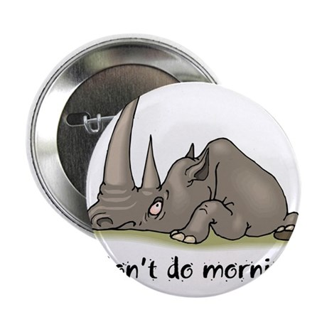 """Lazy Rhino 2.25"""" Button (100 pack)"""
