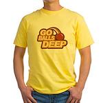 Go Balls Deep Yellow T-Shirt