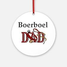 Boerboel Dad Ornament (Round)