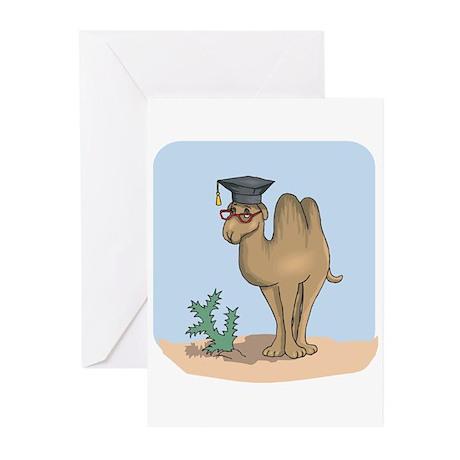 Smart Graduate Camel Greeting Cards (Pk of 20)