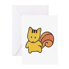 Cute Lil' Squirrel Greeting Card