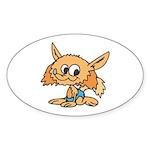 Baby Fox Sticker (Oval 50 pk)
