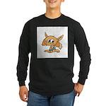Baby Fox Long Sleeve Dark T-Shirt