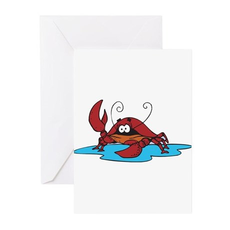 Lonely Little Crab Greeting Cards (Pk of 20)