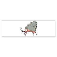 Silly Sneaky Hermit Crab Sticker (Bumper 10 pk)