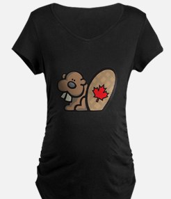 Cute Canadian Beaver T-Shirt