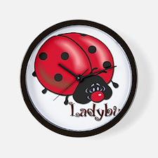 Chubby Lil' Ladybug Wall Clock