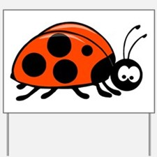 Lady Bug Yard Sign