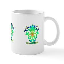 Sprouting Fleur de lis (green) Mug