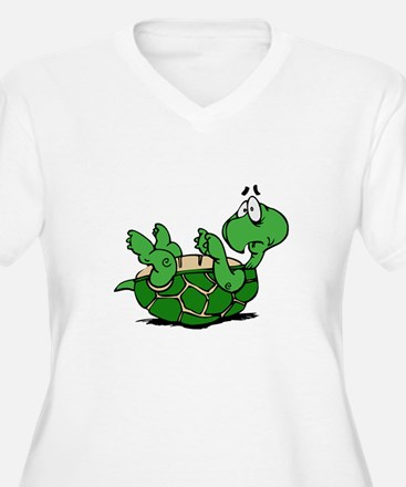 Turtle on His Back T-Shirt