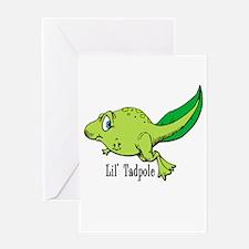 Lil Tadpole Greeting Card