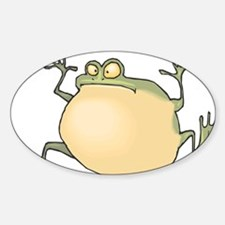 Pot-Belly Frog Decal