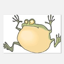 Pot-Belly Frog Postcards (Package of 8)