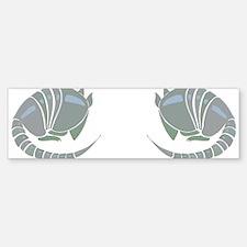 Armadillo Sticker (Bumper)
