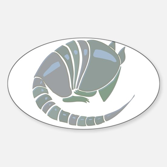 Armadillo Sticker (Oval)