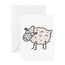 Silly Sheep Greeting Card