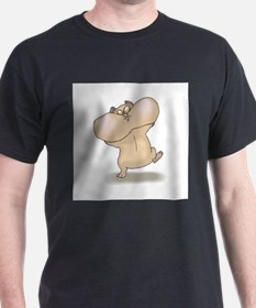 Funny Hamsters with Cheeks Fu T-Shirt