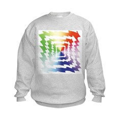 A Splash of Tye Dye Sweatshirt