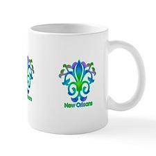 Sprouting Fleur de lis (blue) Mug