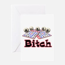 Bingo Bitch Greeting Card